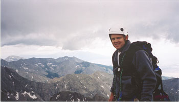 ALAN ON THE SUMMIT