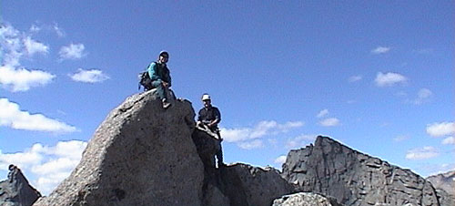 ALAN AND GARY ON THE SUMMIT